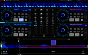 Skin Checo  For Virtual DJ 7 by THERECORDBLACK01