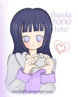 Thanks 5000 hits by CamillaBB