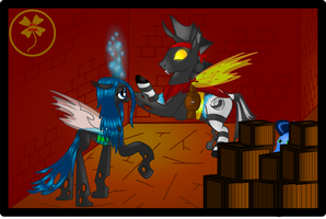 Vince becomes Changeling... For a while by Lakword