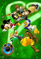 Lacos do Coracao - Kingdom Hearts II by AntonioWellington