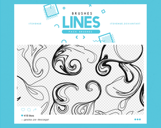 .lines brushes #3 by itsvenue