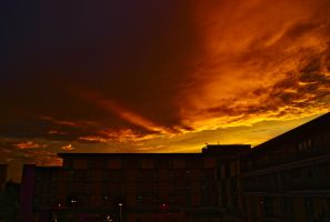 A Fire in the Sky by wafitz