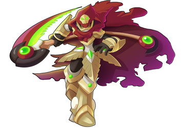 Commission: Specter Knight X by ultimatemaverickx