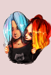 Something about fire and ice by ego-m