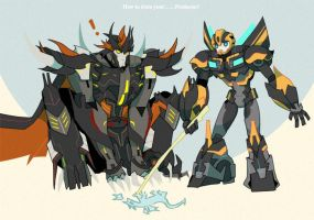 How to train you predacons by Pagodon
