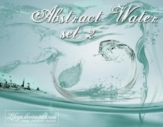 Abstract Water 2 by Lileya