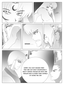 INUYASHA: The Hanyo And The Crescent Moon (7) by Adohira