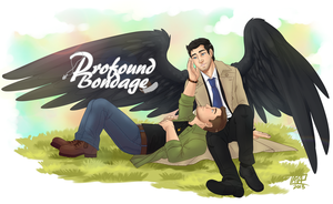 SPN: Destiel Commission for ProfoundBondage.com by Ace-Zaslavsky