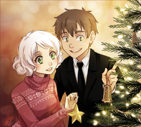 christmas is coming by meago