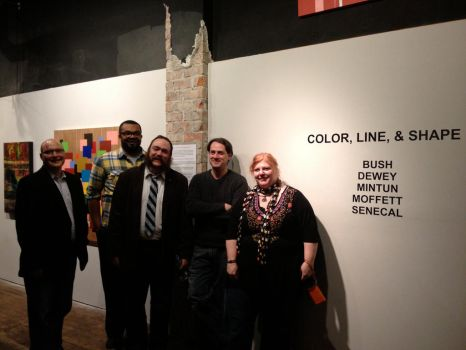 CLS at CAC Artists by peggymintun