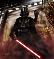 Darth Vader by fromthedead