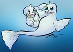 seel and Dewgong by 00Zeref