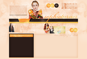 layout ft. sophie turner by Andie-Mikaelson