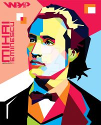 Mihai Eminescu in WPAP by ihsanulhakim