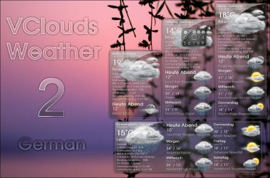 VClouds Weather 2 German by VClouds