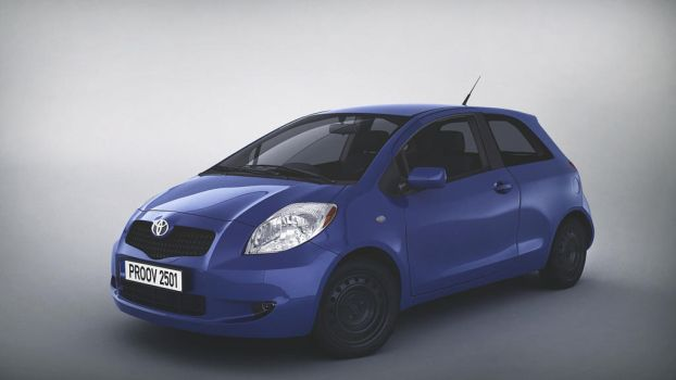 Toyota Yaris 2007 by 3Dstate