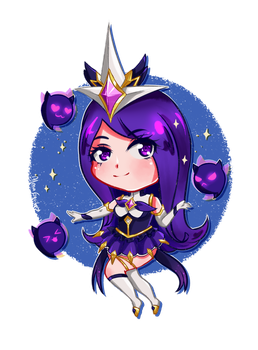Syndra Star Guardian by AlmaGKrueger