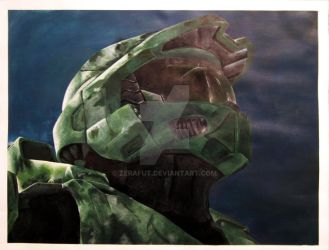 Master Chief by Zerafut