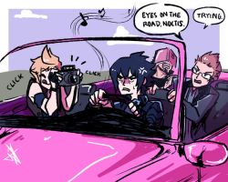 Noctisweek Day 1 | On the road by cocosnowlo