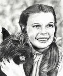 Judy Garland (Dorothy Gail and Toto) by marmicminipark