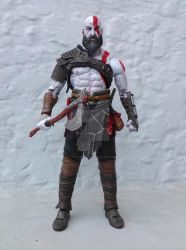 8-Inch Kratos Figure by tonycreatah