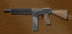 WW2 SMG by Seanobi