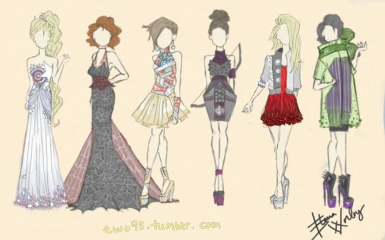 Avengers Fashion by Ellphie