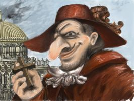Nobody expects the Spanish Inquisition! by Paulie-Gualtieri