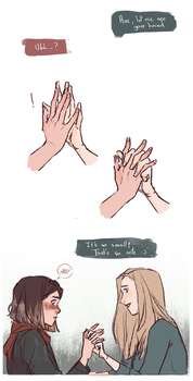 Smol hands by lesly-oh
