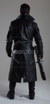 Danny Cyberpunk Detective 144 - Stock Photography by NeoStockz