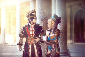 Trinity Blood - Radu and Ion by Hikari-Kanda