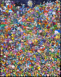 Pokemon All Gens - As of Nov 2012 by samarin6