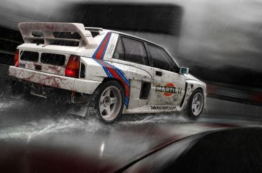 lancia delta rally by hugosilva