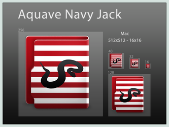 Aquave Navy Jack by DoNotThrowAway