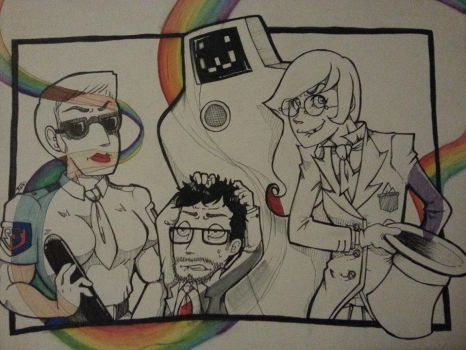 Superjail! People I Know Edition by cactusthis