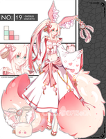 .:CLOSED:. ADOPTABLE RAFFLE - Chidus Species 19 by chisei-adopts