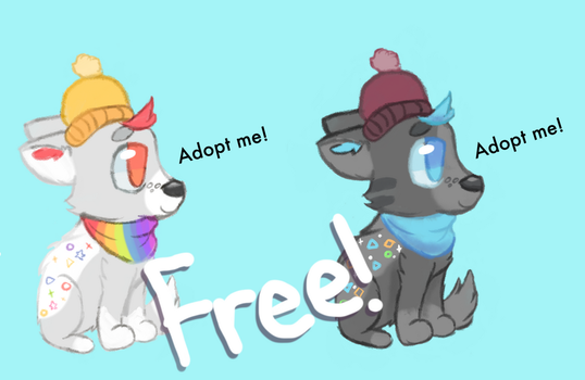 FREE adoptables! (now closed) by CelestialBlu