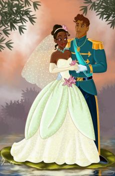 TIANA AND NAVEEN by FERNL