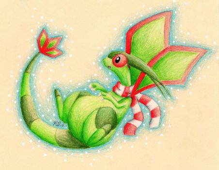 Day 5: Flygon by KGScribbles