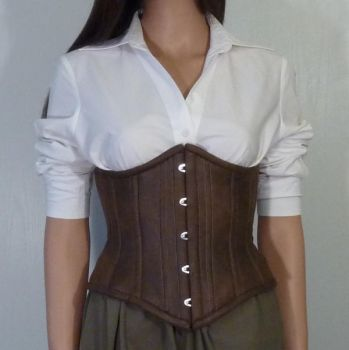 Steampunk corset -how to- by LillysWorkshop