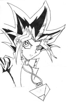 Yugi by trad-HP-rocks