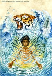 Life of Pi: Cover Art by pallanoph