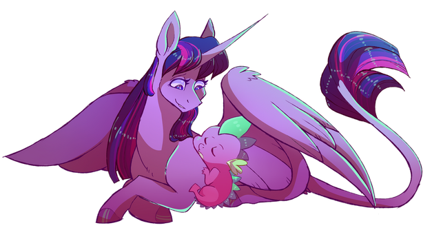 Sleepy Butt by uunicornicc