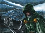 Doctor Doom by kiborgalexic