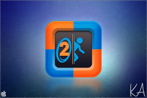 Portal 2 icon by AaronOlive