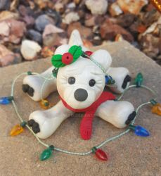 Christmas Polar Bear: Sold by ohara916