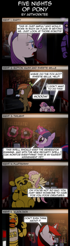 Five Nights Of Pony by artwork-tee