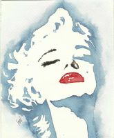 Marilyn Monroe by Sarickbanana