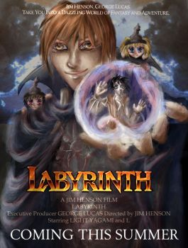 Death Note Labyrinth by diagram12345