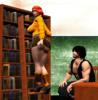 Velma the Librarian by Chup-at-Cabra